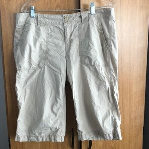 Gap khaki shorts.